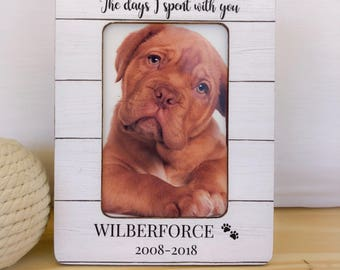 Loss of a Pet Frame Remembrance Frame Dog Cat Memorial Frame Dog Loss Frame Pet loss Gift Cat frame  Pet Sympathy Gift Cat Memorial Frame Pe