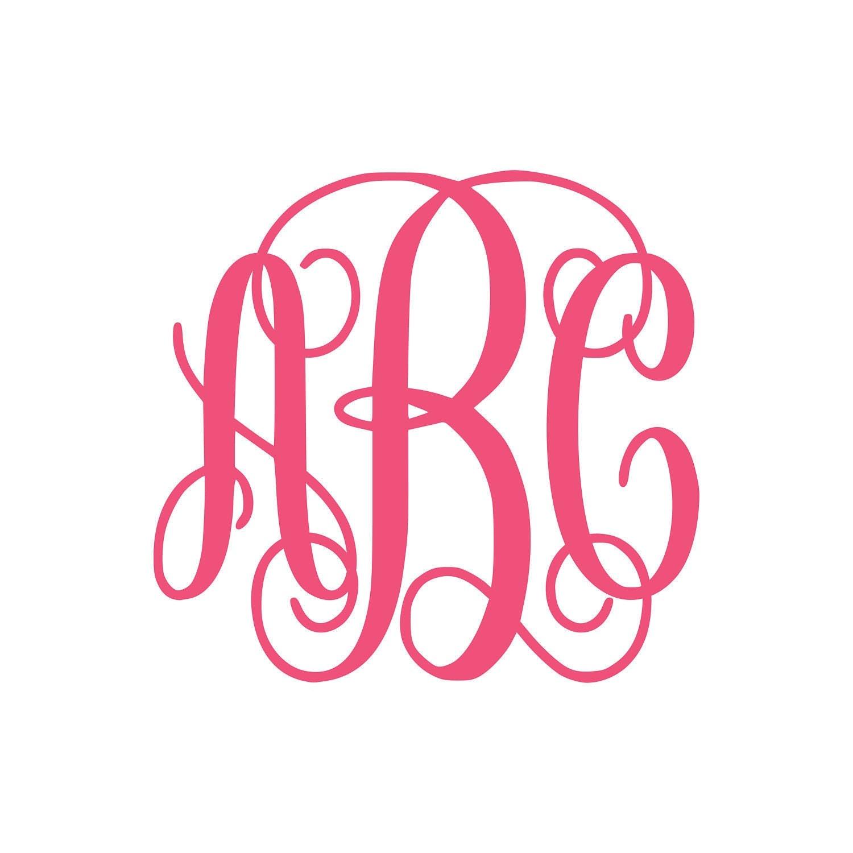 Download Interlocking Vine Monogram Font SVG Vine Monogram Font Cut
