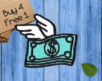 Money Patches Iron On Embroidered Patches Custom Patches