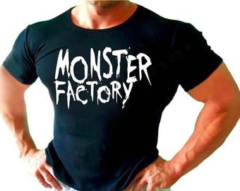 Monster factory Mens / Womens T-shirt High Quality Fashion Style Hand Crafted Apparel Bulk Orders Discounts !