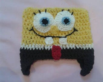 The sponge bob crochet Beanie