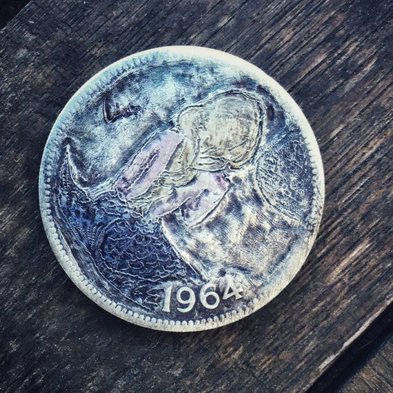 Hobo Nickel Mermaid #1 by olmo