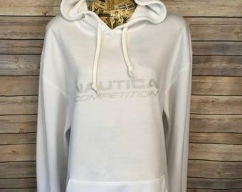 Nautica Competition Reversible Sweatshirt Hoodie (L)