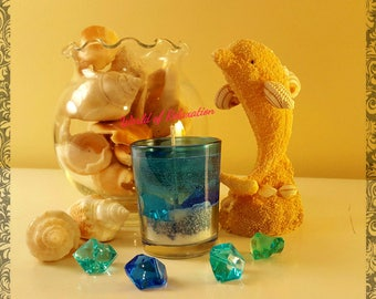 Small Gel Candle with Sugar Cookie Scent
