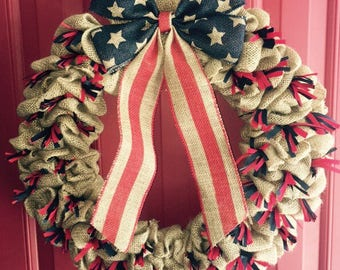Stars, Stripes, and Everything Nice Wreath
