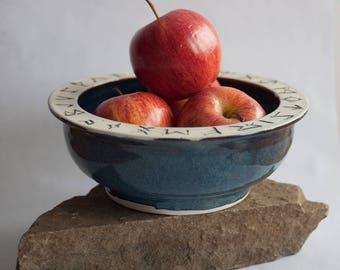 Viking Runes Bowl