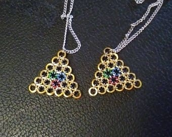 Tri-force necklace