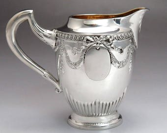 late 1800s/early 1900s German 800 Silver Creamer