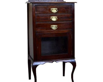 Victorian Music Cabinet