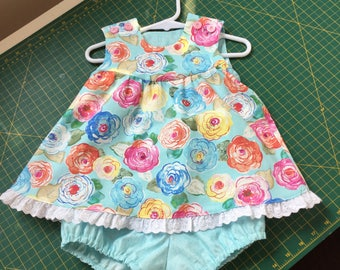 Toddler girl's two piece