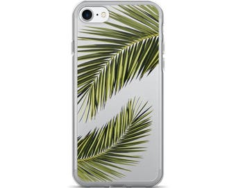 Tropical iPhone Case • Palm Tree iPhone 7 Case • Palm Leaves iPhone 6 Case • Cute iPhone case • PF00 «