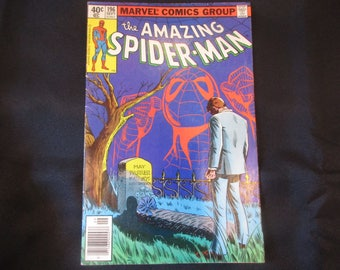 The Amazing Spider-Man #196 (Faked Death of Aunt May Issue) Marvel Comics 1979