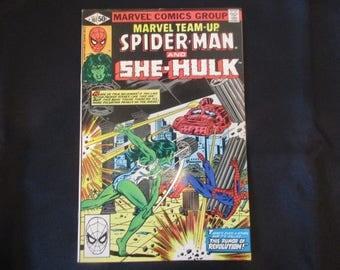 Marvel Team-Up #107 Marvel Comics 1981