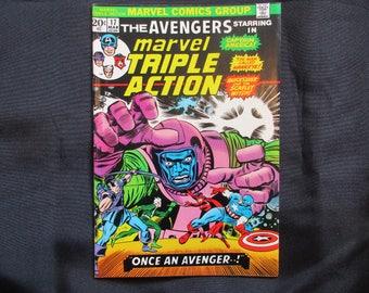 Marvel Triple Action #17 Marvel Comics 1973