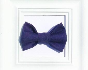 Blue Bow tie, baby boy bow tie, Baby bow tie, Kids bow tie, Smash cake bow tie, First birthday bow tie, boys bow tie, Navy blue bow tie