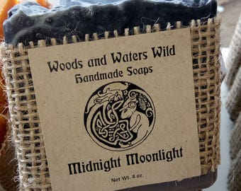 Midnight Moonlight soap | Handmade Soap | Natural Vegan Soap