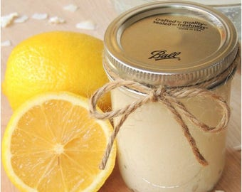 Citrus sugar scrub