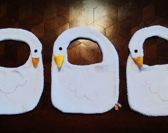 White Swan bibs