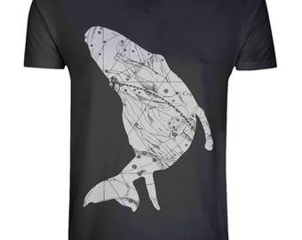 Earth Positive Men's Organic T-Shirt: Baby Humpback