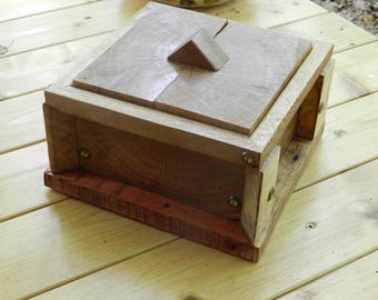 Box for wooden box, jewelry / photos etc.