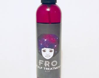 Vegan scalp treatment oil for natural hair- FRO, 8oz