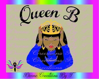 Queen B  (SVG,DXF,EPS) (made by me)