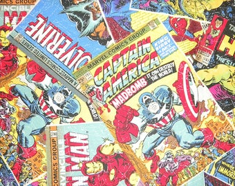 Marvel Comics Posters by Camelot Fabrics