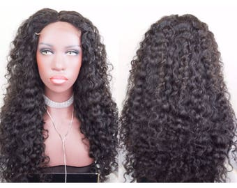 100 % Virgin Human Hair Wig | Deep Wave/Curly Custom Wig
