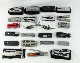 Multi Tool & Folding Knives - Lot of 22 - Huge Resale Opportunity