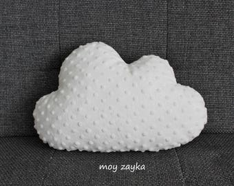 White cloud pillow