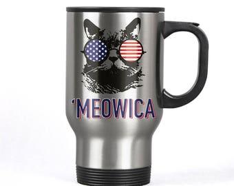 Cute Meowica Kitty Cute Meowica Cat Cat Coffee Mug Meowica Cat Lover Meowica Cat Funny Meowica Cat Funny Meowica Gift Meowica USA Cat