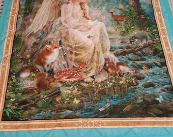 Angel n Animal Blanket