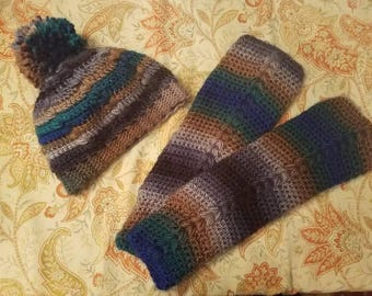 The Forever Beanie and Everyday Slouchy Arm Warmers Set