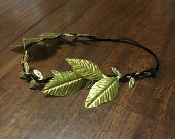 Laurel Headband - Gold