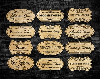 Printable Potion Ingredient Labels, Magic Potion Ingredient Labels, Magical Potion Party Printables, Valentines Potions, Instant Download