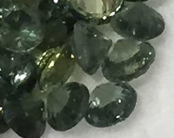 2.75 mm,Thia Green Sapphire-Diamond