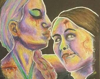Apocalypse - Zombie Drawing