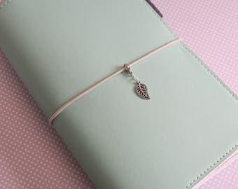 Fern Leaf Travelers Notebook Charm