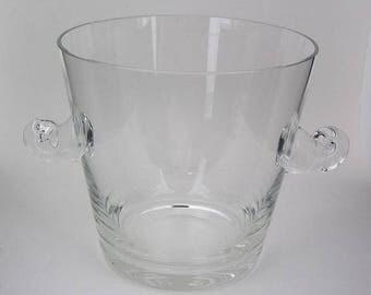 Tiffany Crystal Ice Bucket