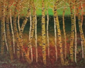 Birch Forest - Print
