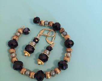 Beaded Bracelet / Charm Bracelet / Cuff Bracelet / Gold Bracelet / Statement Bracelet / Women's Bracelet / Gift For Her /