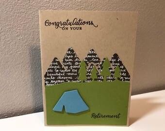 Retirment Handmade Stampin' Up! Card