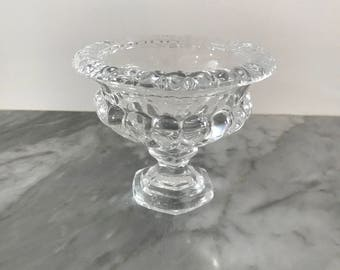 Small Glass Compote