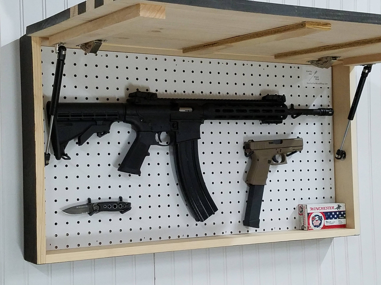 American Flag Usa Concealment Furniture Compartment