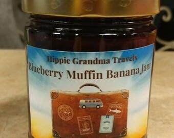 Handmade Organic Blueberry Muffin Banana Jam