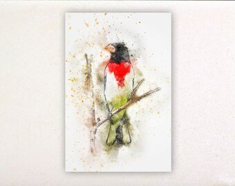 Bird - Watercolor prints, watercolor posters, nursery decor, nursery wall art, wall decor, wall prints 26 | Tropparoba 100% made Italy