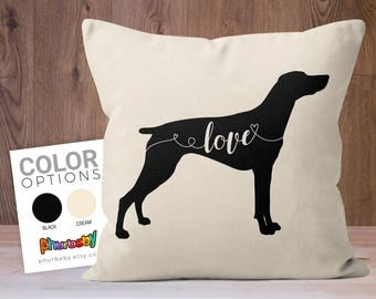 German Shorthaired Pointer | Pet Pillow | Fiancé Gift | Dog Lover Gift | Stuffed Dog Pillow | Decorative Pillow | Birthday Gift | Dog Gift