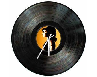 Amy Winehouse Vinyl Clock 12 inch