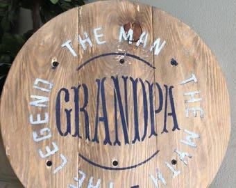 Grandpa's the Man!