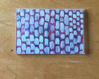 Magnet - White Gumdrops